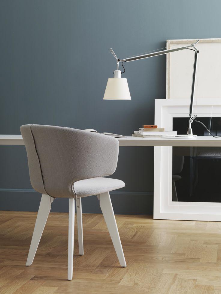 Taormina wood chair #design by Alfredo Häberli.  #interiordesign #homedesign #officedesign