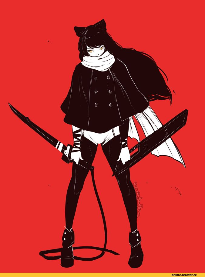 Anime,Аниме,RWBY,Blake Belladonna,clockwork-cadaver,Koyorin
