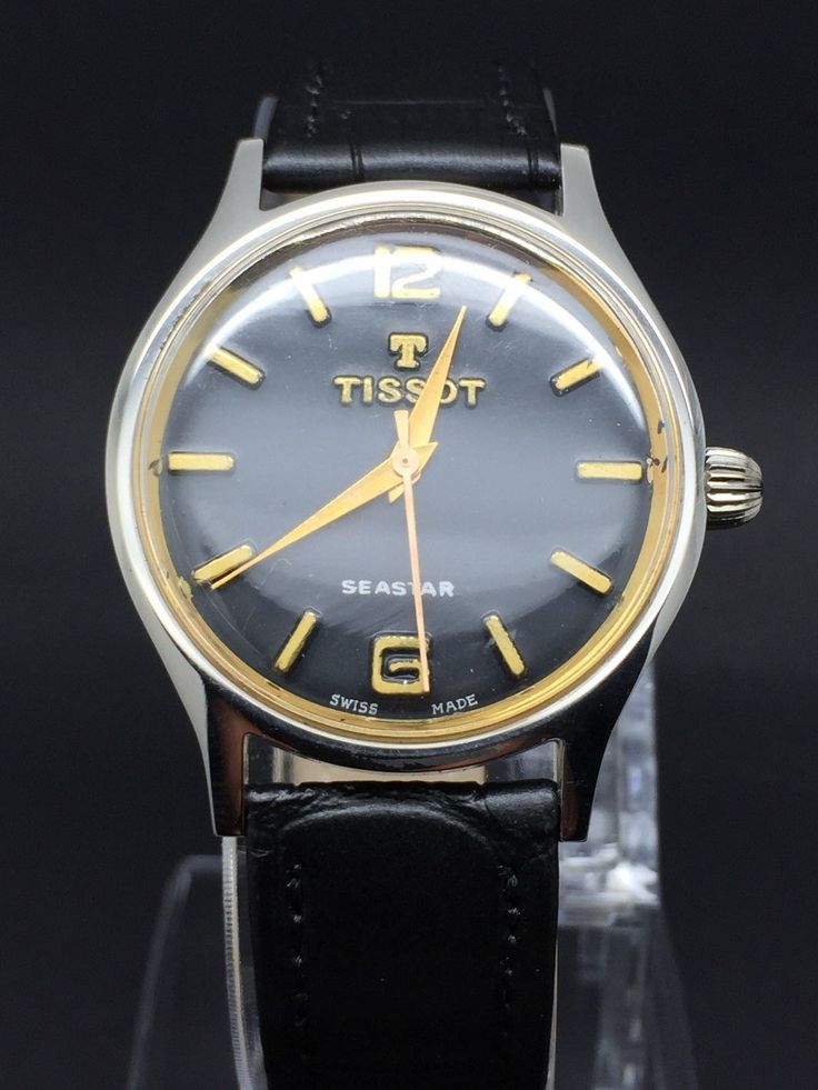Vintage Tissot Seastar Manual Winding 1960's 17 Jewels Men ...