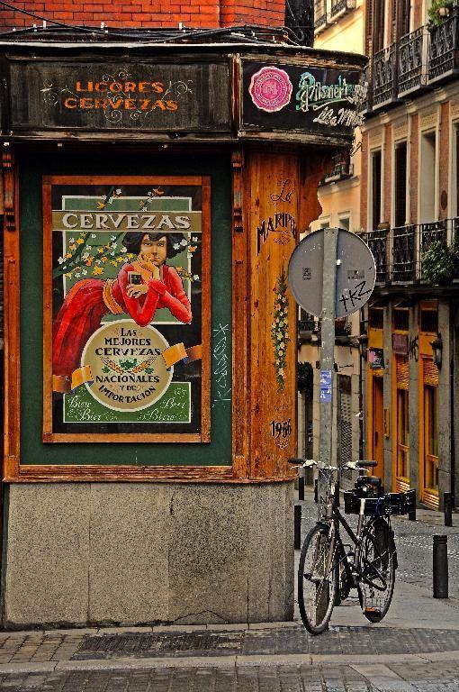 Barrio de las Letras, Madrid Spain