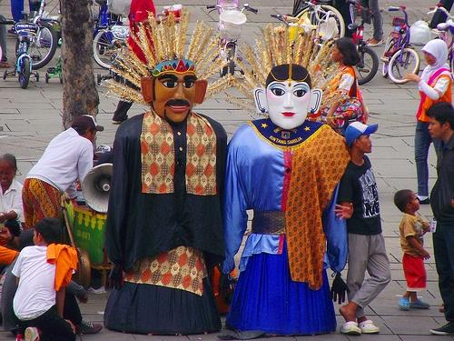 Ondel-Ondel Betawi -> Kota Tua   -> West Jakarta