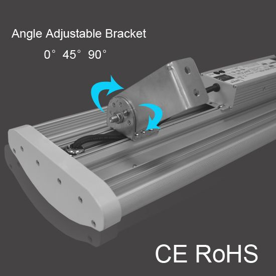 80W 100W 150W 200W 240W 300W Linear high bay light 150lm/w linear high bay light IP65 high power linear high bay light IK10 vandal resistant linear high bay light Angle adjustable linear high bay light  More information, please kindly reach to sales@hongnaxin.com