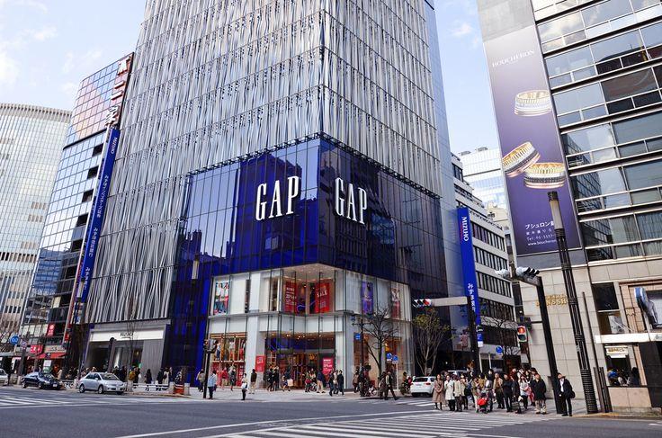 Ideas for Chandler Hwy & Heidelberg Rd corner. [07]  GAP Building, Ginza, Tokyo.
