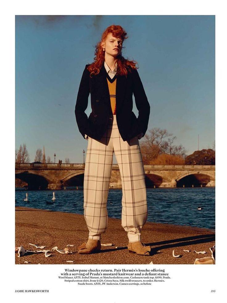 Jamie Hawkesworth A Walk In The Park (British Vogue)
