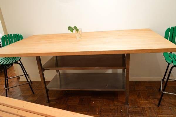 1000 images about studio on pinterest modern desk shelf brackets and high dining table. Black Bedroom Furniture Sets. Home Design Ideas