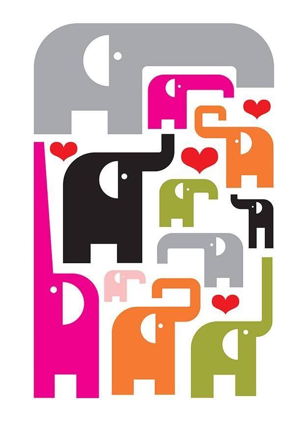 Elephant pattern #ivoryforelephants #stoppoaching #elephants for #ivory ! #animals #elephantart #art
