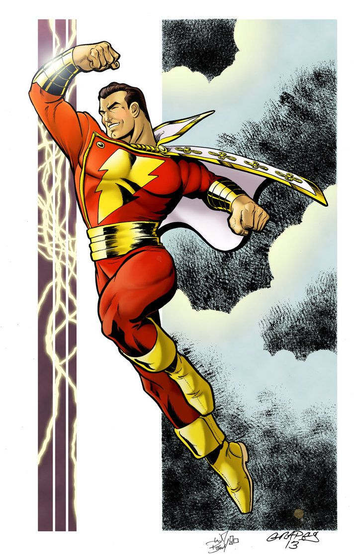 thehappysorceress:  Captain Marvel by William Grapes, color by Wil Brendel Magic Monday