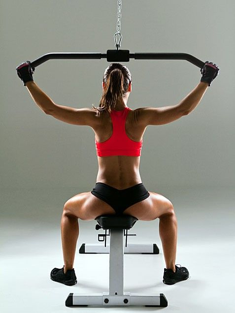 The back is the sexiest part of a women so why not work it  these are some awesome back exercises!