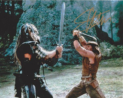 Sven-Ole Thorsen Conan the Barbarian Original Autographed 8X10 Photo
