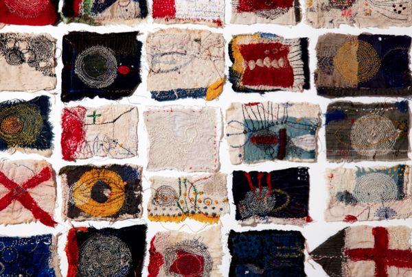 Junko Oki Textiles Artist Study for CAPI @Milliande.com