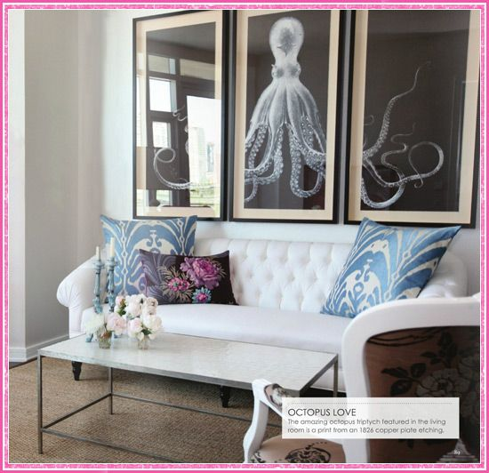 152 Best Octo Home Decor Images On Pinterest Octopus Art