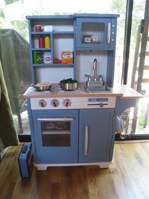 Diy Wooden Play Kitchen