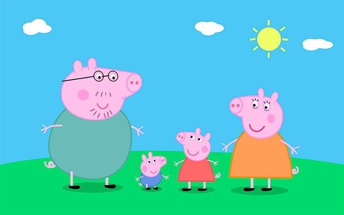 Puzzle Peppa Pig. http://www.puzzles.pequescuela.com/puzzle-peppa-pig2.html