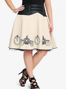 Disney Cinderella Faux Leather Twill Skirt from Torrid.