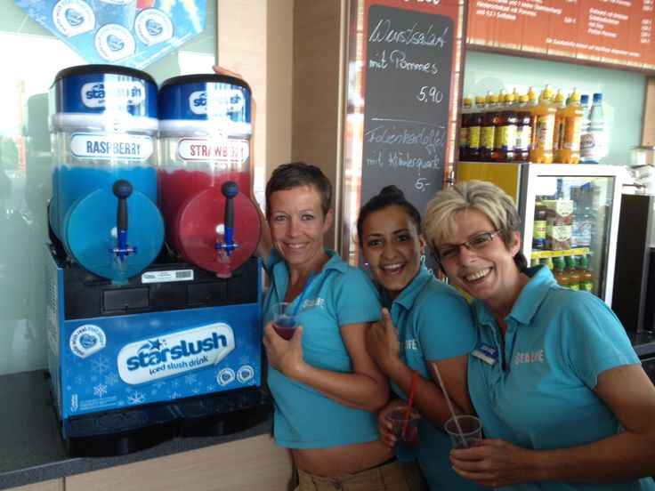 Mandy and her team at Sea Life Speyer, Germany, are delighted to take delivery of their new Starslush freezer! You can now enjoy a delicious iced slush drink as you explore an underwater world!