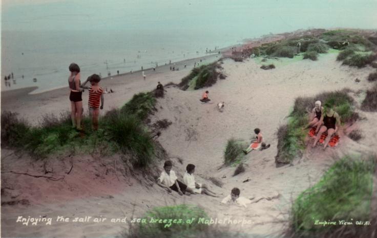 Mablethorpe Sands 1930s