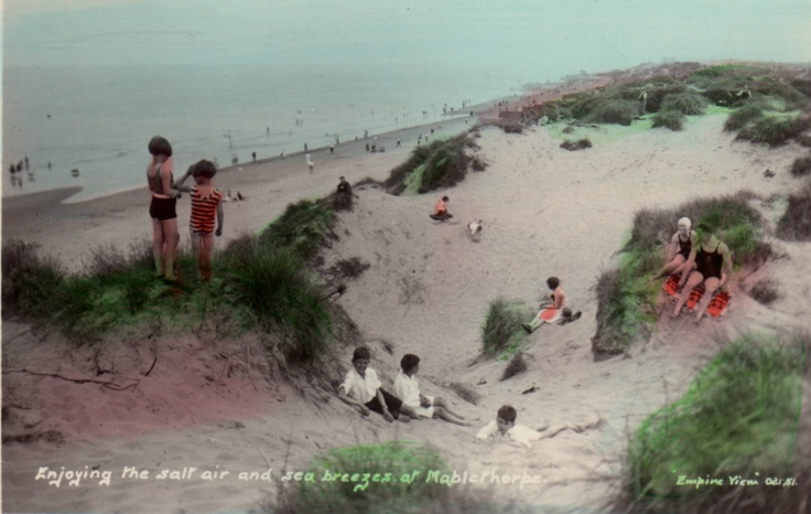 Mablethorpe Sands 1930s