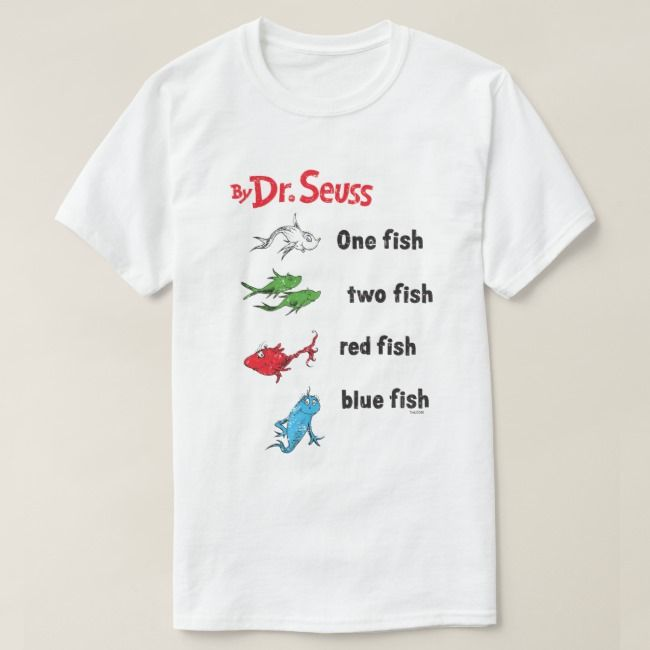 Jumping Beans Boys 4-10 Dr Seuss One Fish Two Fish Raglan Graphic Tee