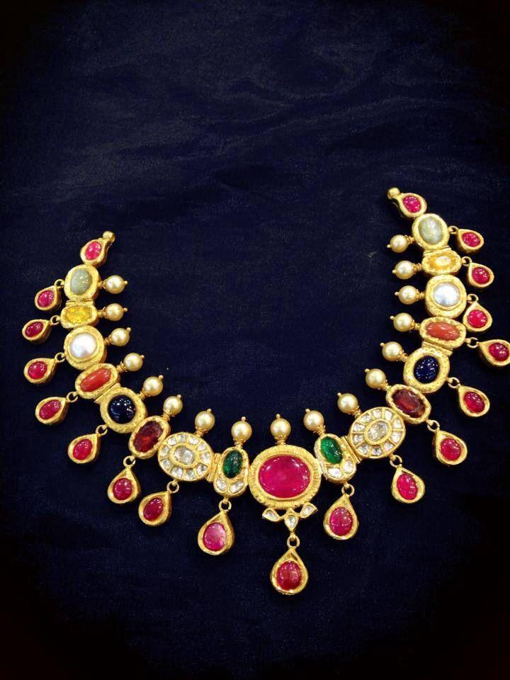 Antique navaratna jewellery