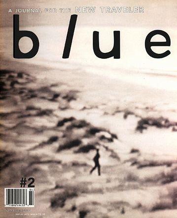 Typographic cover design by David Carson