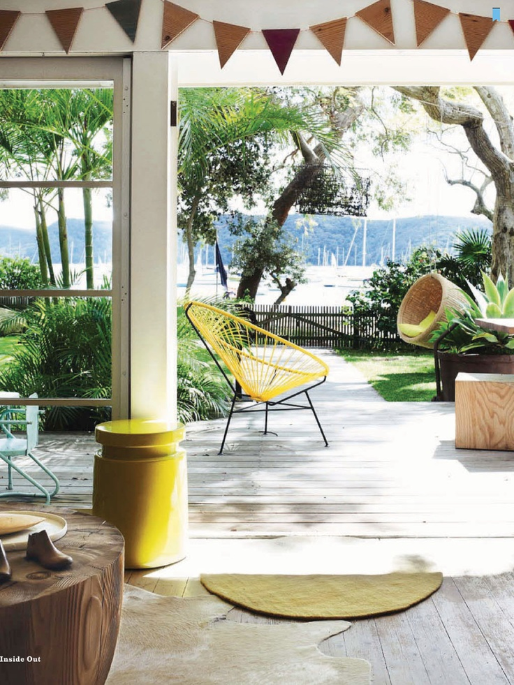 Inside Out Australia. Acapulco ChairYellow ChairsOutdoor ...