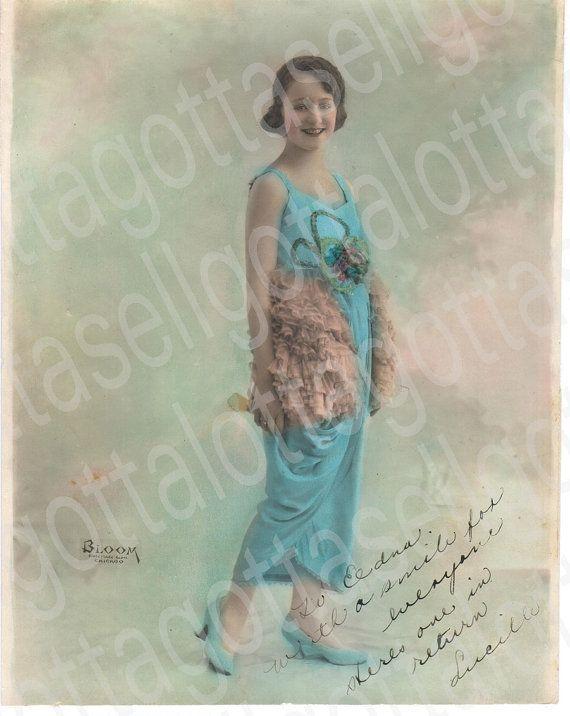 8 X10 Original 1919 Photo of Female Vaudeville by retrogoround