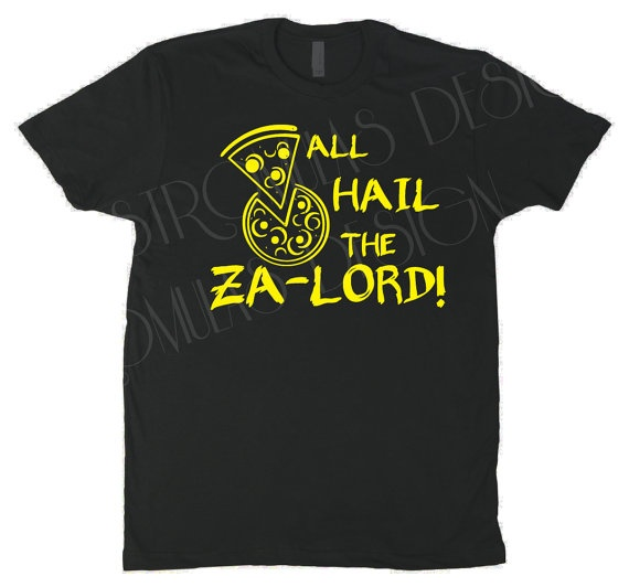 All Hail the ZaLord Dresden Files Shirt by StromulasDesign on Etsy, $16.00