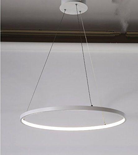 Great qwer Minimalistische led Kronleuchter kreativen Charakter Ess und Wohnzimmer Lampen Nordic wind Kreis Kronleuchter stilvolle