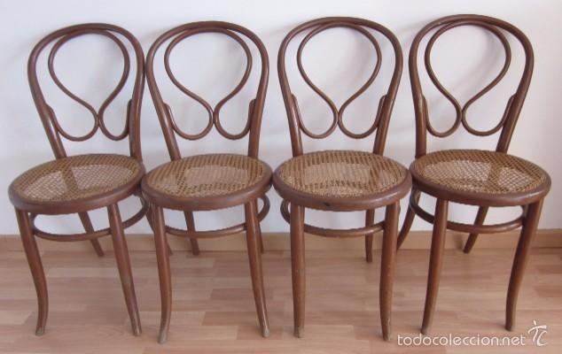 Cuatro sillas fischel originales con sello foto 1 for Sillas originales