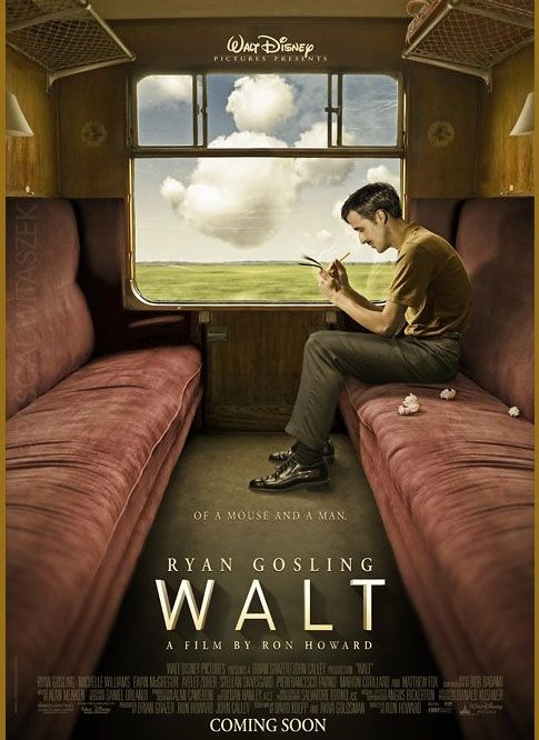 This poster is fake, but then I read an article that it inspired a real project...too good to be true?!: Waltdisney