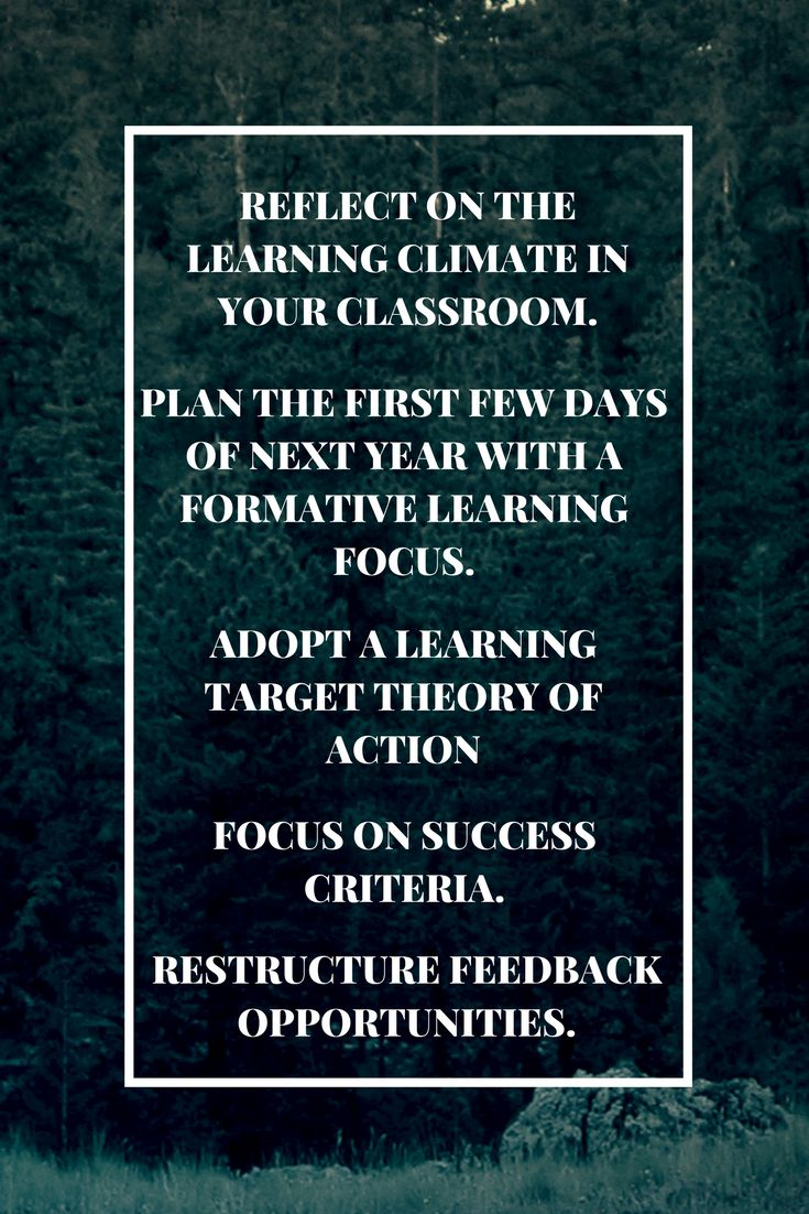 5 Formative Assessment Tips for the New School Year