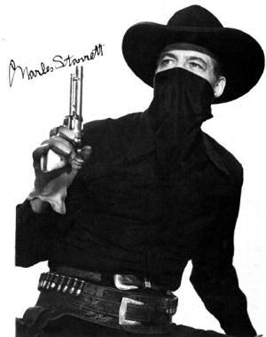 Charles Starrett as the Durango Kid
