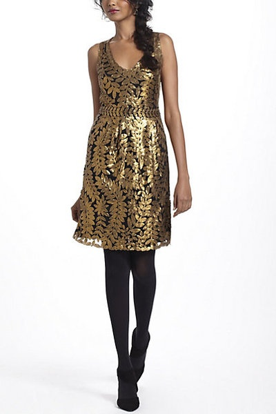 Goldleaf Cocktail Dress by Project Alabama