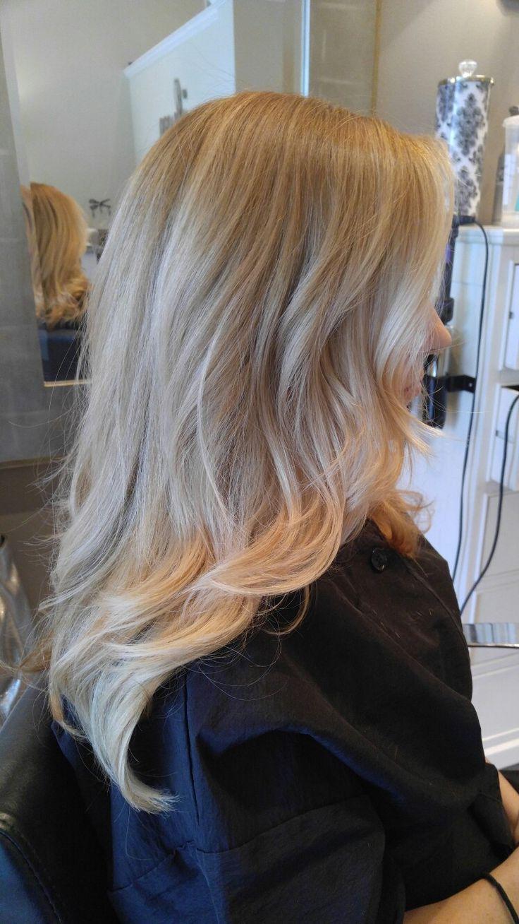 Butter Cream Blonde Stephanie Mayeaux Hair Pinterest
