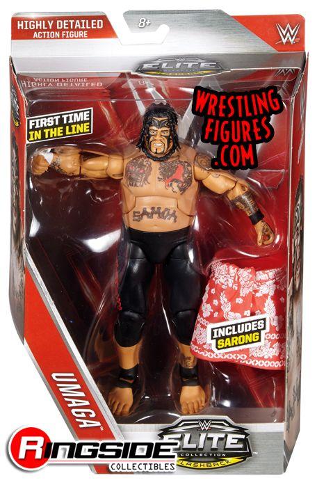 Umaga - WWE Elite 40 WWE Toy Wrestling Action Figure