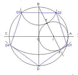 comment dessiner un pentagone