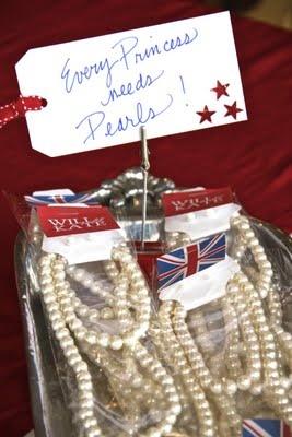Royal Wedding Party Favors