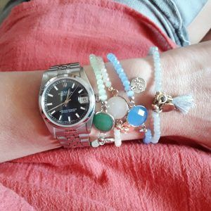 bracelets tendance originaux #rolex #braceletfantaisie