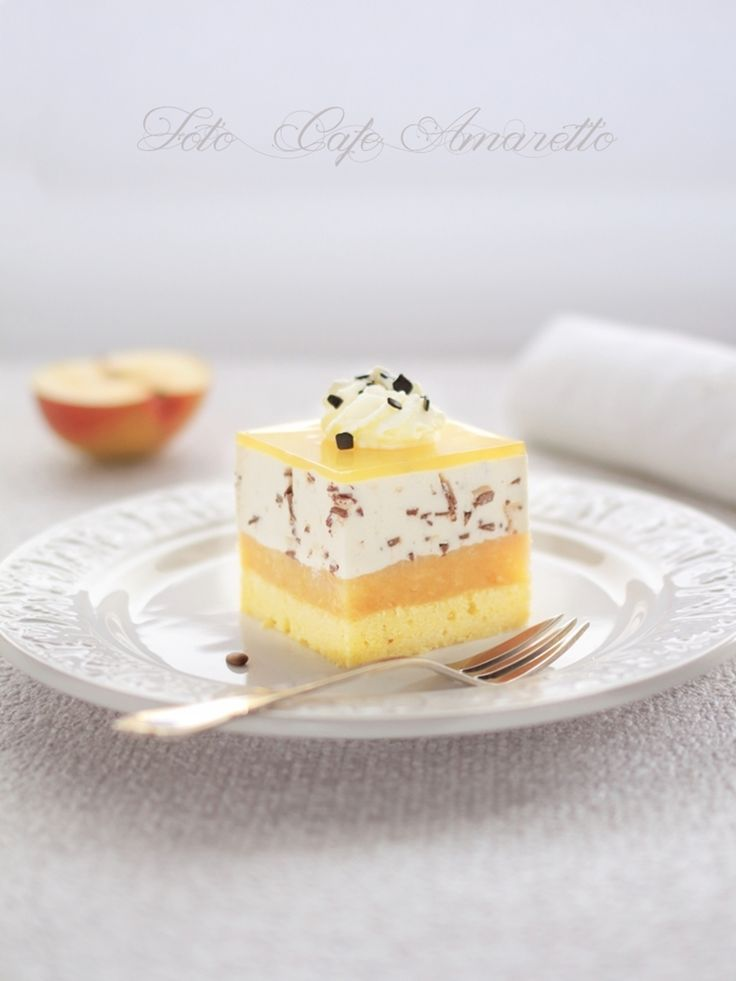 Cafe Amaretto: Jabłecznik stracciatella