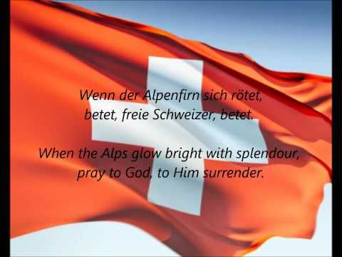 "▶ Swiss National Anthem - ""Schweizerpsalm"" (DE/EN) - YouTube"