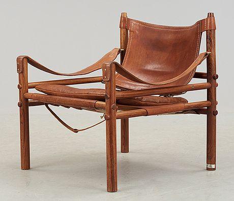"""FÅTÖLJ, """"Sirocco"""", Arne Norell. Modellen formgiven 1964."""