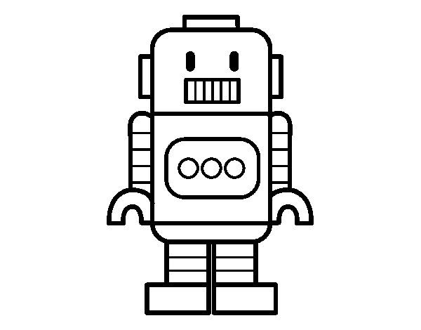 18 best images about robots coloring pages on pinterest