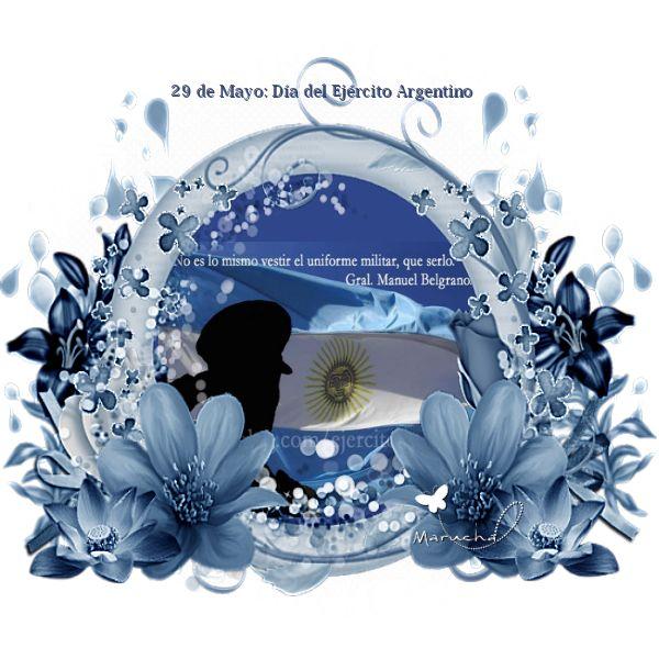 La casita del hornero 2: 29 de Mayo: Día del Ejército Argentino
