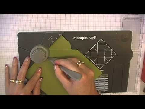 A new way to make a rectangle box!▶ Stamping T! - Gift Box Punch Board - YouTube