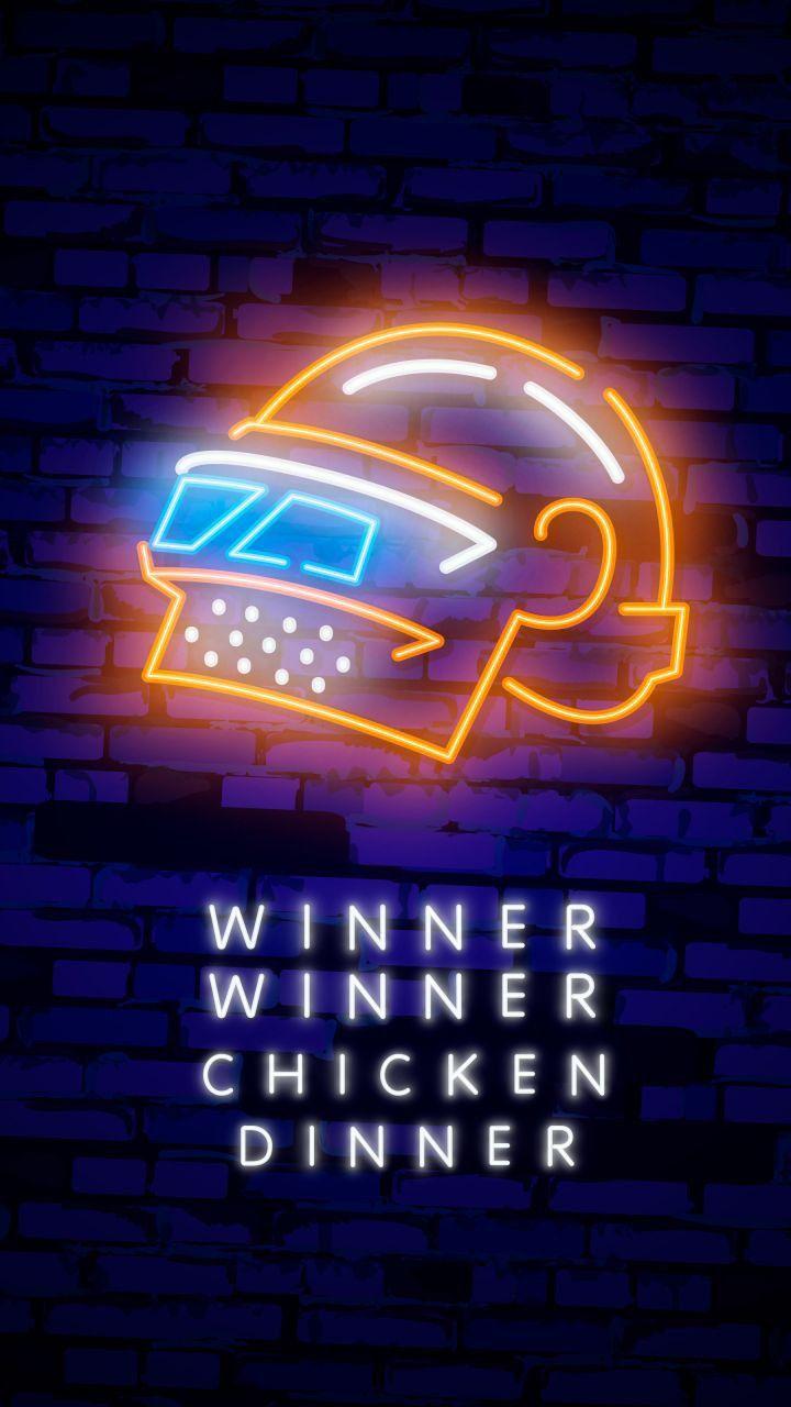 Pin By Mehdi Writes On 1000 Pubg Hd Wallpaper S 4k Desktop Mobile Hd Wallpaper 4k Winner Winner Chicken Dinner Neon Signs