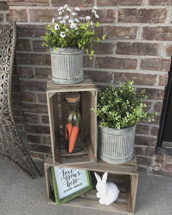 Adorable Easter Porch Decor Ideas Porch Ideas Farmhouse Front