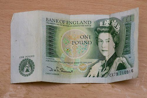 British £1 note, was replaced by a coin In 1986.