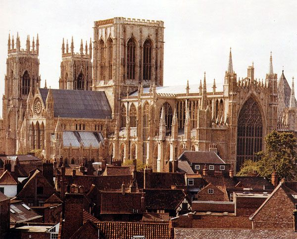 York. Probably one of the most beautiful city in the UK.