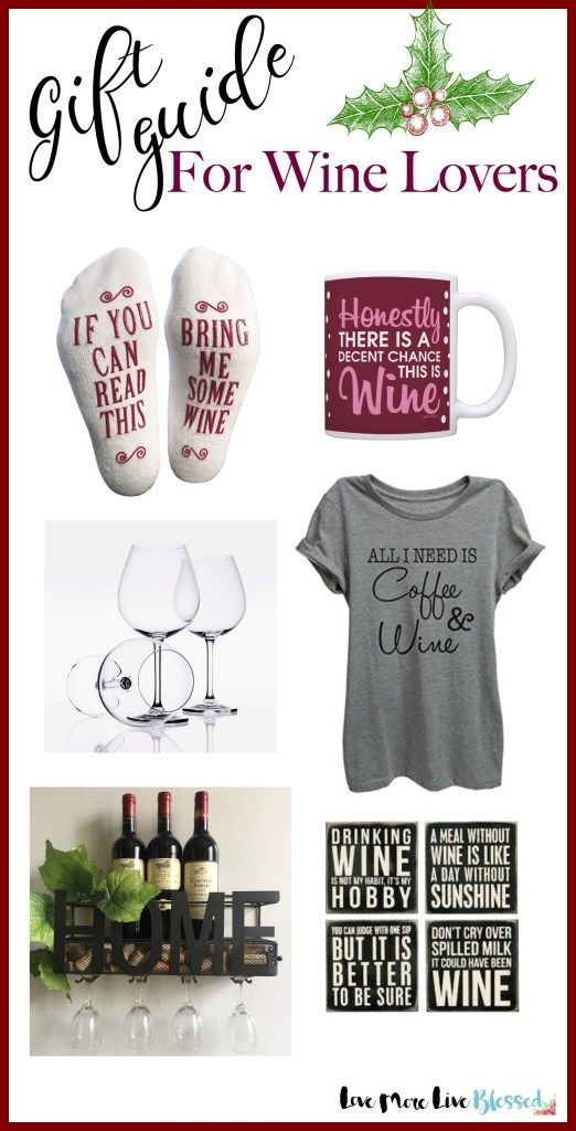 I found the best gift guide for all the wine lovers on my list this Christmas! This is the perfect wine lover's gift guide. I pretty much want everything on this list! wine, holiday, gift ideas,
