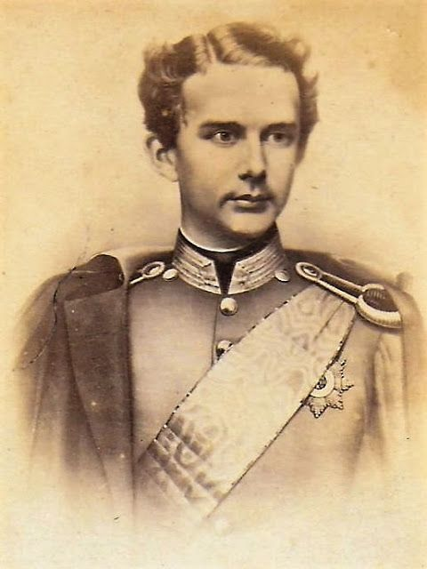 Munich et la Bavière, Louis II et Richard Wagner: Le Prince héritier Louis de Wittelsbach vers 1860